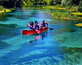Escursione in canoa sul fiume Tirino - Abruzzo - Greenscount